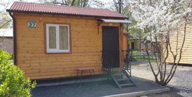 Новые домики на базе отдыха «Родник»